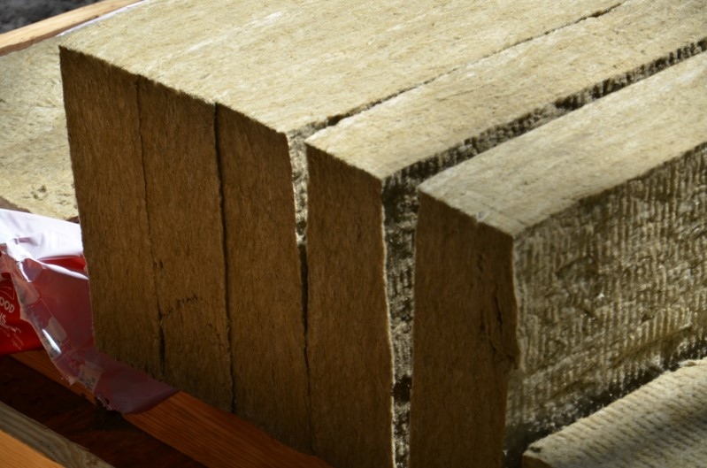 Rock wool insulation for floor of high performance tiny 3 mineral wool insulation
